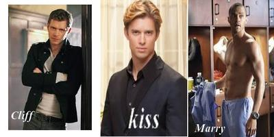 Kiss, Marry and Cliff masculins ( series )