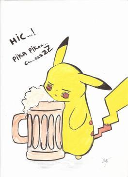 Articles de glace au chocolat14 tagg s pikachu tobi - Dessin pikachu mignon ...