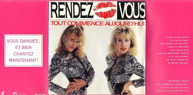 Côté promo  Rendez-vous - Tout commence aujourd'hui (1989)