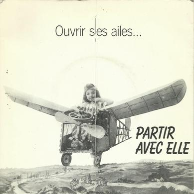 Côté promo  Loonatiks - Partir avec elle promo (1988)