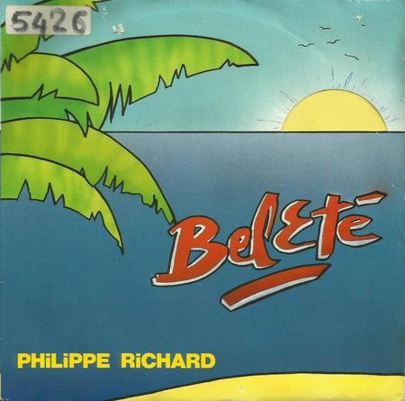 Côté promo  Philippe Richard - Bel été (1989)