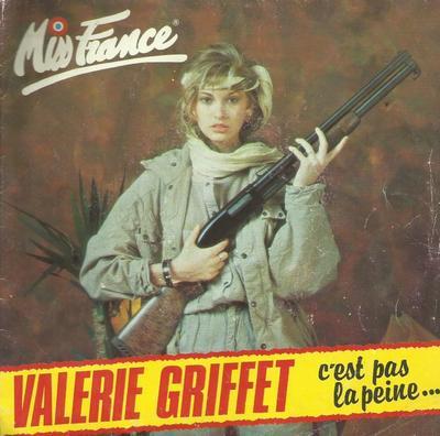 Coup d'oeil sur...  Valérie Griffet - C'est pas la peine (1984)