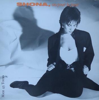 Côté promo  Shona - Au jour le jour, les maxi 45 tours (1988)