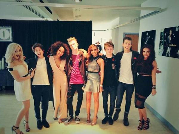 The Vamps aux BBC Radio 1 Teen Awards 2013