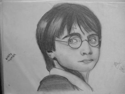 Harry potter passion du dessin manga - Dessin harry potter facile ...