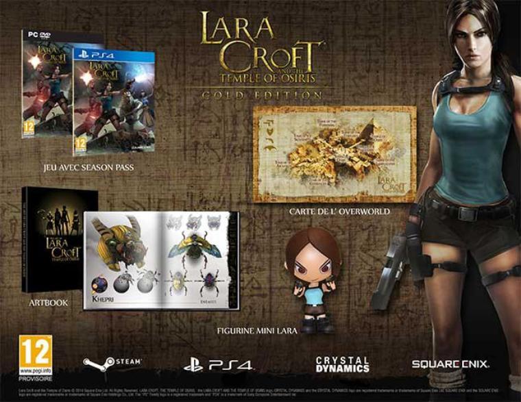 {Jeux video} Lara Croft & Le Temple d'Osiris edition collector