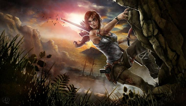 {Fan-Art} Lara Croft