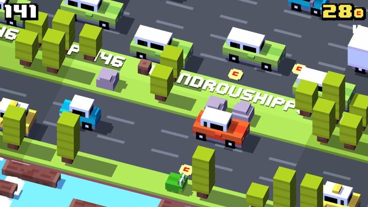 {Android} Crossy Road