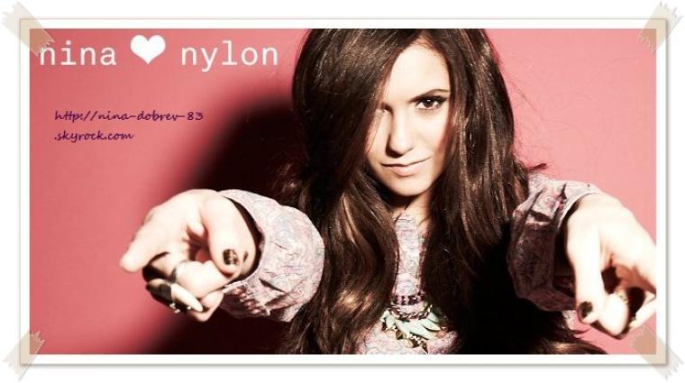 Nina Dobrev - Photoshoot for Nylon Magazine