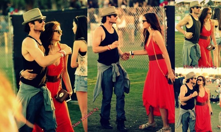 ♥  Nina et Ian en Week-end en amoureux au Festival Coachella ! *(Suite )