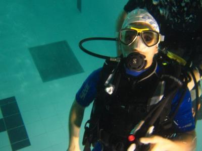 Kossal sous l'eau