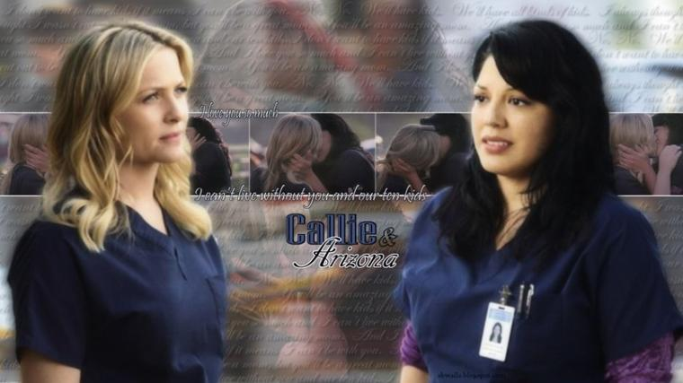 Callie et Arizona! <3<3<3<3