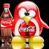 tux coca cola