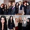 .12.01.10 -  Vanessa, et ses collègues de Sucker Punch étaient au  Stella McCartney Store, West Hollywood. .