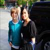 . Photo de Demi et le beau Justin Bieber qu'en pensez vous ?  ( Posté par OMR ).