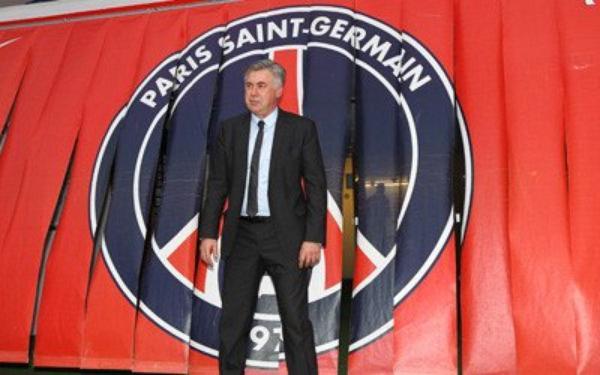Carlo Ancelotti à Paris