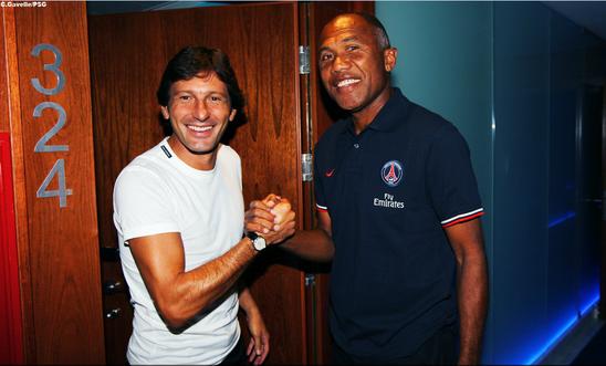 Leonardo a remercié Antoine Kombouaré