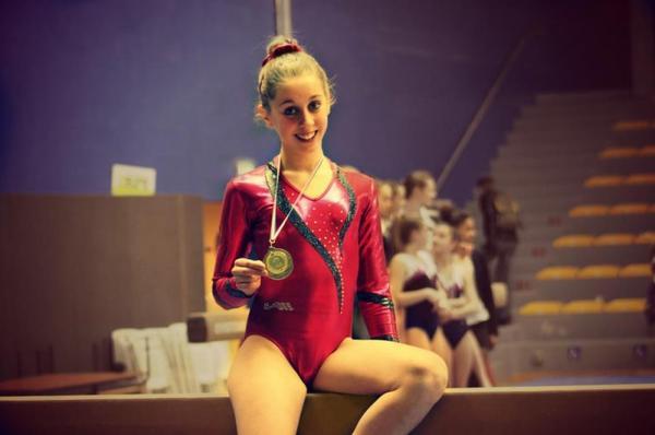 La gymnastique , mon élément de vie..♥