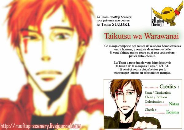 scan yaoi:taikutsu wa warawanai