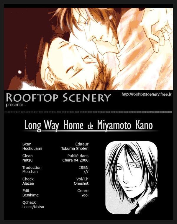 Scan yaoi:long way home