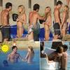 ツ                               ツ       15/07 Los angeles    ツ          Lors de leur vacances en Italie Jude & Sienna sont allés a la plage !!!    ツ       Ils sont si mignon (l)   ツ                               ツ