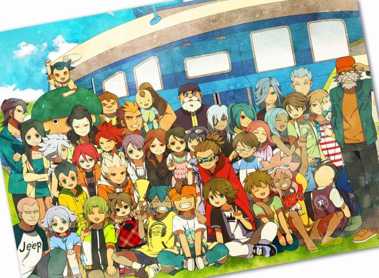 Toutes l'équipe d'Inazuma Eleven (Sommaire)