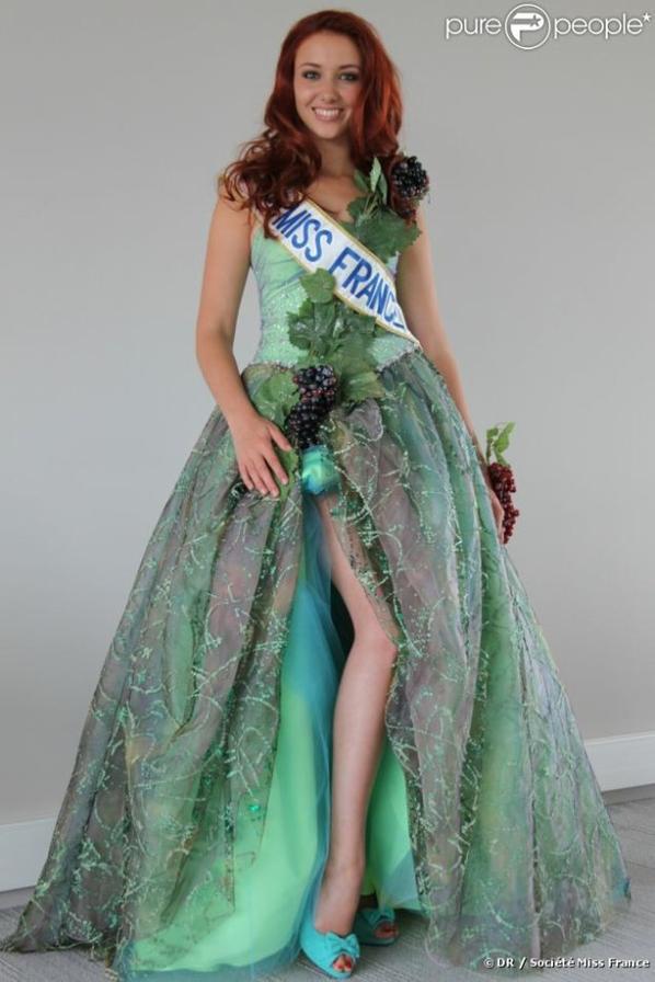 Les robes de Delphine pour Miss Monde 2012.