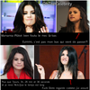 Mais, à quoi pense ..  Selena Gomez ?