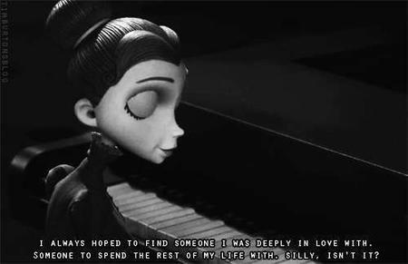 L'amour est une illusion, ça ne peut pas durer, c'est impossible.