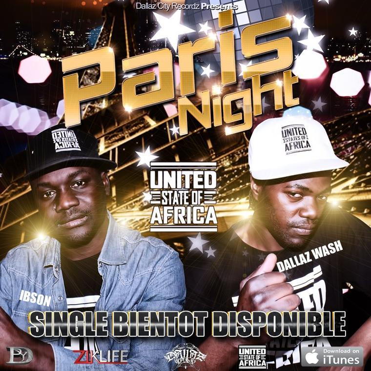 U.S.A / Paris Night nouveauté hip hop rn'b  (2012)