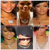 """» Voici quelques """" colliers """" que la chanteuse Rihanna à porter :  Choisissez votre collier  favoris ! Article en collaboration  avec RihannaLook"""