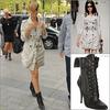 » Robyn Rihanna Fenty - Une véritable Fashion Victime !  Avec Son TrenchCoat à 2795 $ & ses chassures Balmain à plus de 1 000 $ Rihanna Nous assure un grand Top !