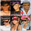 """» Voici quelques """" casquettes """" que la chanteuse Rihanna à porter :  Choisissez votre casquette  favorite ! Article en collaboration avec RihannaLook"""