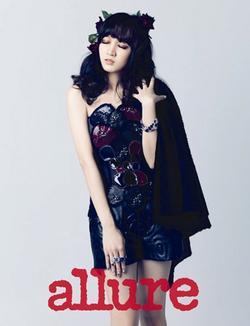 Photoshoot : Jia et Suzy (miss A) sont glamour pour << Allure Korea >>