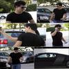 . 09.01.2010 : Notre beau Taylor a été apperçu quittant sa salle de sport. Une fan a également eu la chance de prendre une photo avec lui..