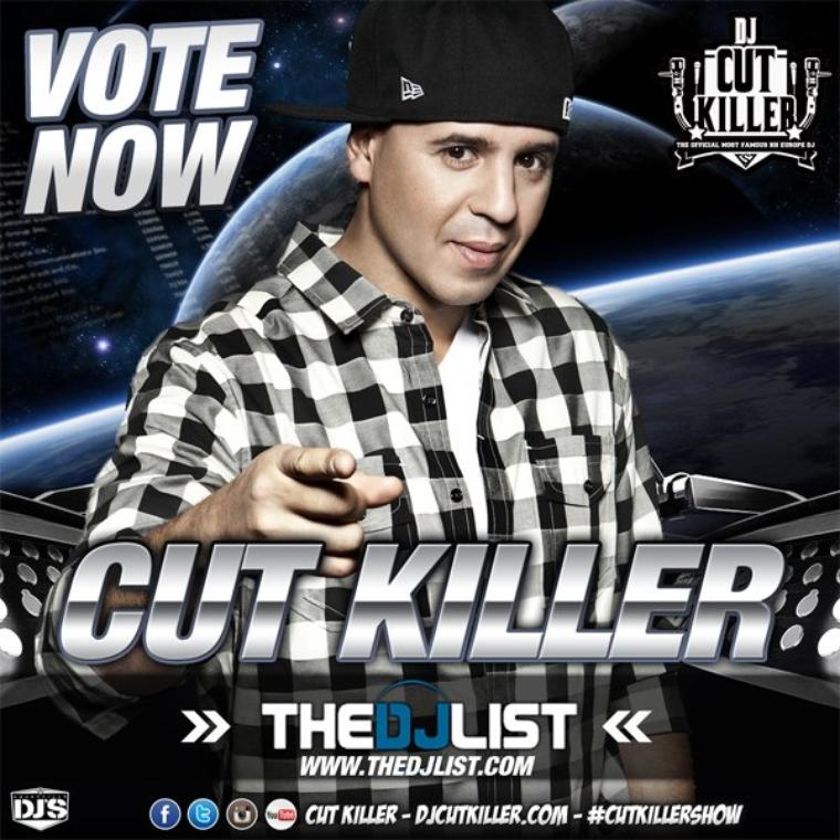 VOTEZ CUT KILLER SUR THE DJ LIST