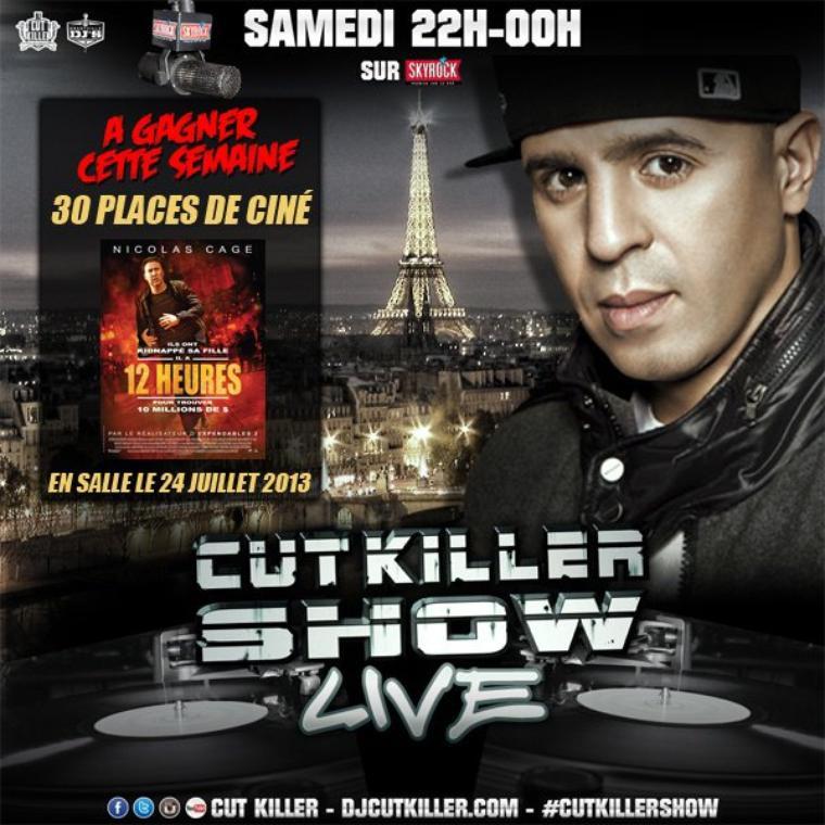 CUT KILLER SHOW : A gagner des place de ciné pour le film 12 Heures