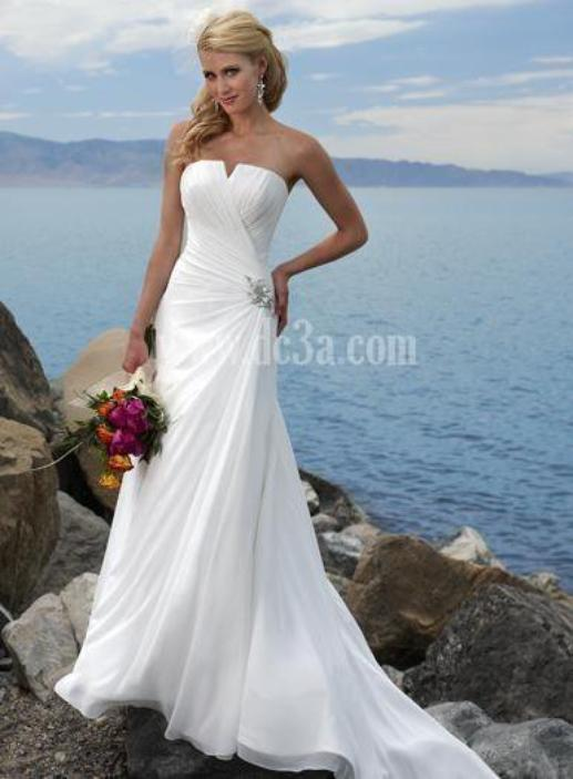 Painless Programs Of Beach Wedding Dresses