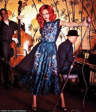 Diane Kruger - Rihanna.