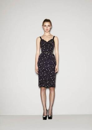 Des étoiles plein les yeux chez Dolce & Gabbana.