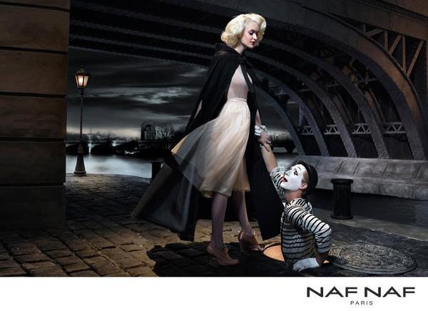 Campagne Naf Naf hiver 2011.