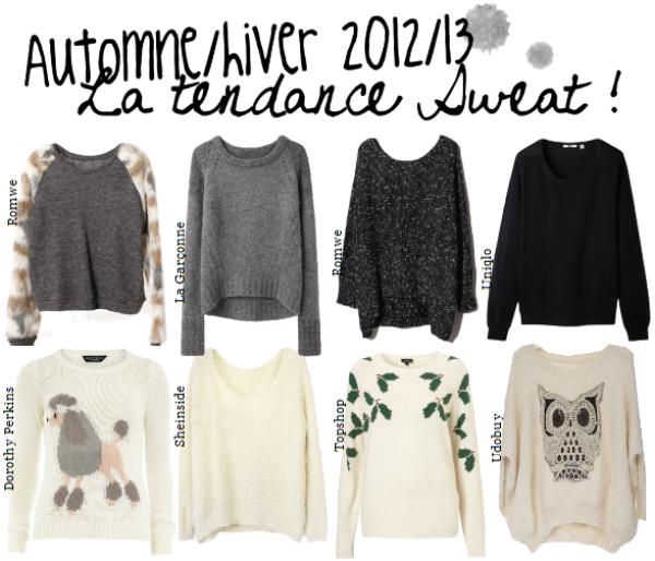 Sweaters.