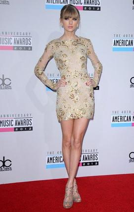 Taylor Swift aux American Music Awards 2012.