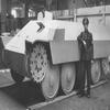 """Schützenpanzerwagen auf Fahrgestell Pz 38(t) """"Kätchen"""""""
