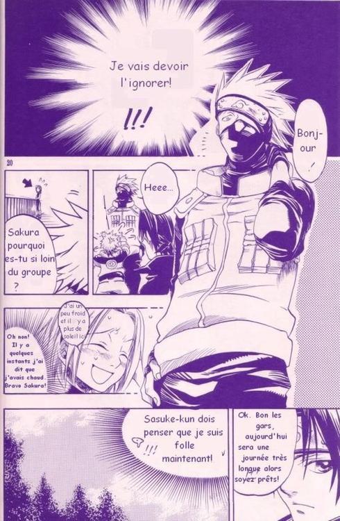 Doujin SasuSaku : The Play of Adolescence [suite 2]