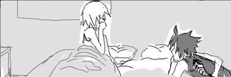 Doujin SasuSaku : Atchoum