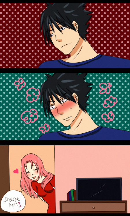 Mini scènes SasuSaku (5)