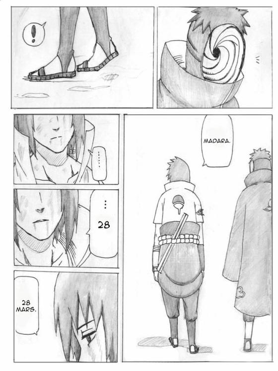 Doujin SasuSaku : The last time