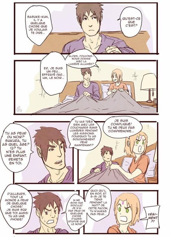 SasuSaku Month [Jour 4 : There was no warning]