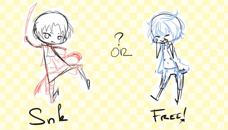 Prochain habillage - Free! ou Shingeki no kyoujin?